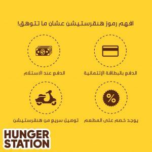كوبون خصم هنقرستيشن HungerStation 2021